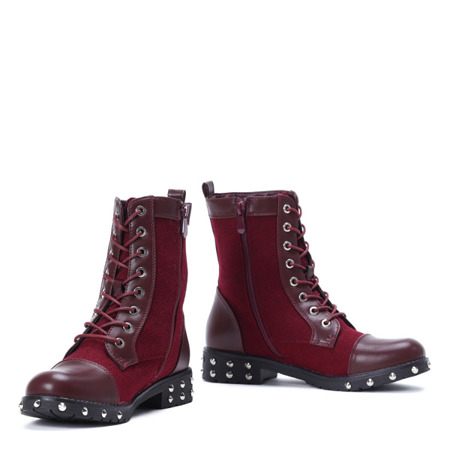 Adelan insulated maroon boots - Footwear