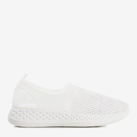 Araceli white women's sports shoes - Footwear