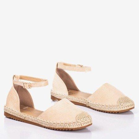 Beige Leilane women's espadrilles - Footwear 1