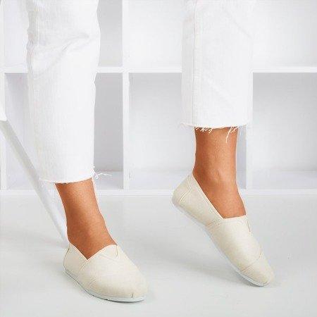 Beige Women's Slip-on Sneakers Slavarina - Footwear