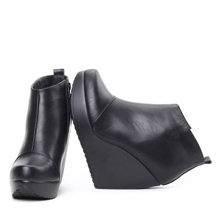 Black Koiene wedge boots - Shoes 1