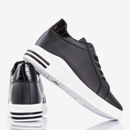 Black Sliomena wedge sneakers - Footwear 1