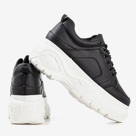 Black Valarie women's sneakers - Footwear 1