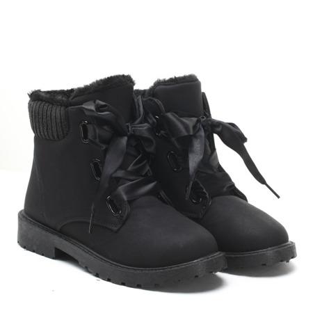 Black insulated boots Negra - Footwear