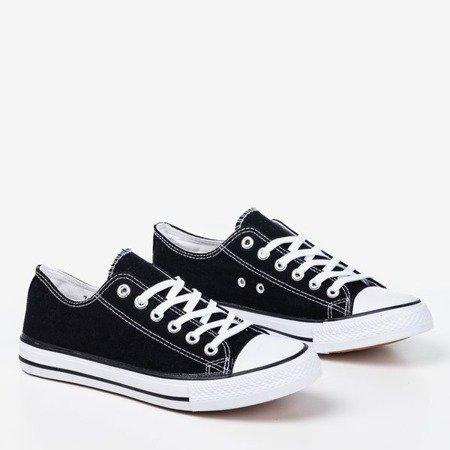 Black men's sneakers Lonis - Footwear 1