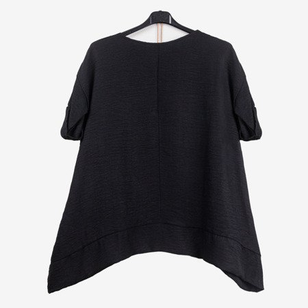 Black tunic for women - Blouses 1