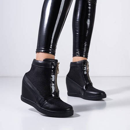 Black women's ankle boots from Ralona - Shoes
