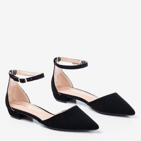 Black women's flat ballerinas Arinida - Footwear