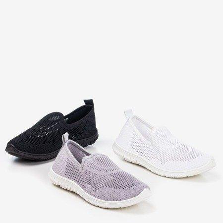 Black women's slip-on sport shoes - on Boreia - Footwear 1