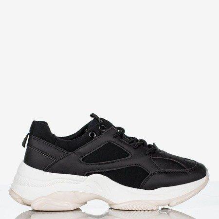 Black women's sneakers Youth - Footwear 1