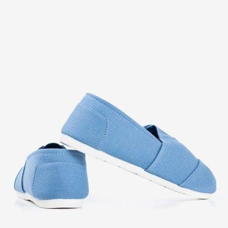 Blue Slavarina women's slip-on sneakers - Footwear 1