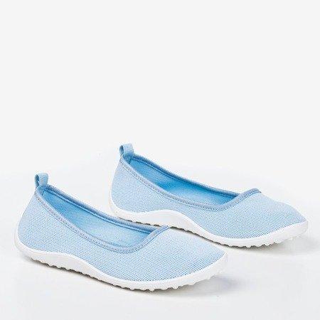 Light blue Calicija women's slip-on sneakers - Footwear 1