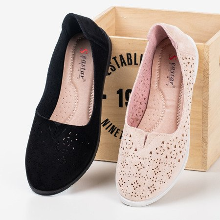Light pink Rewita openwork loafers - Footwear