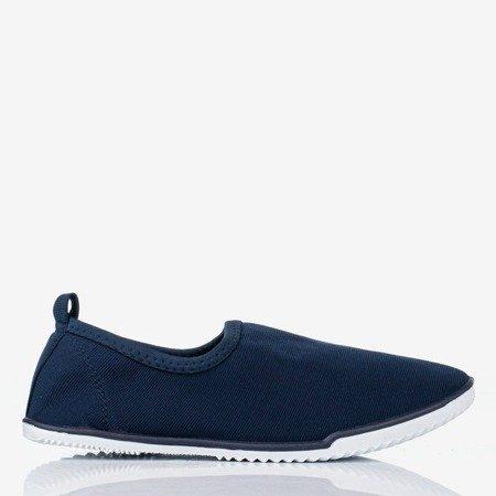 Maywood navy blue slip-on sneakers for women - Footwear