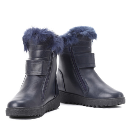 Monti navy insulated snow boots - Footwear