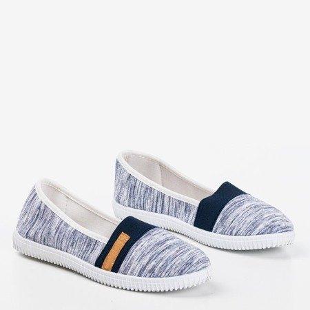 Navy slip-on sneakers with straps Arimida - Footwear