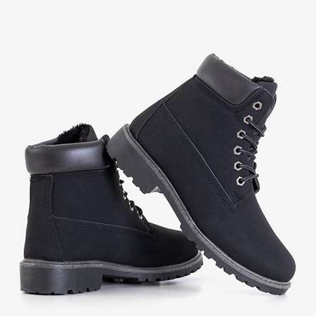 OUTLET Black women's insulated boots from Botis - Shoes