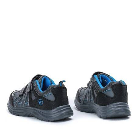 OUTLET Gray boys' sports shoes with Velcro closure Julin - Shoes