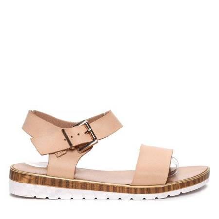 OUTLET Julie beige sandals - Footwear