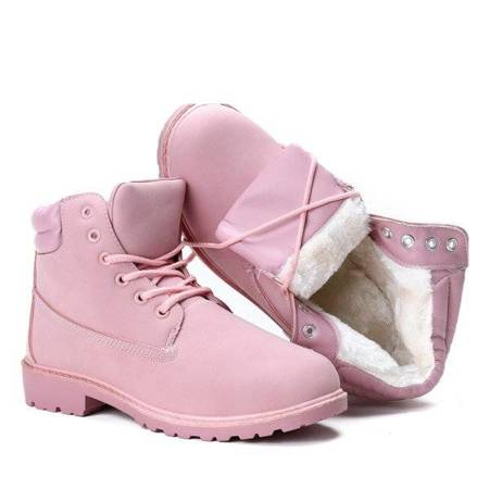 OUTLET Pink insulated boots Pinki - Shoes