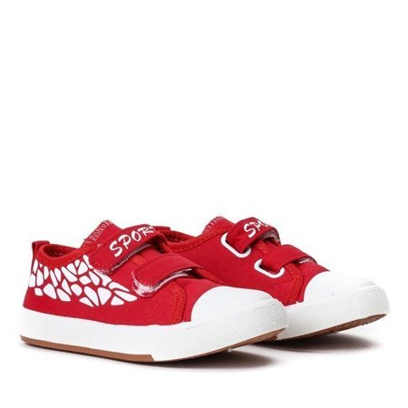 OUTLET Red girls' sneakers Bambino - Footwear