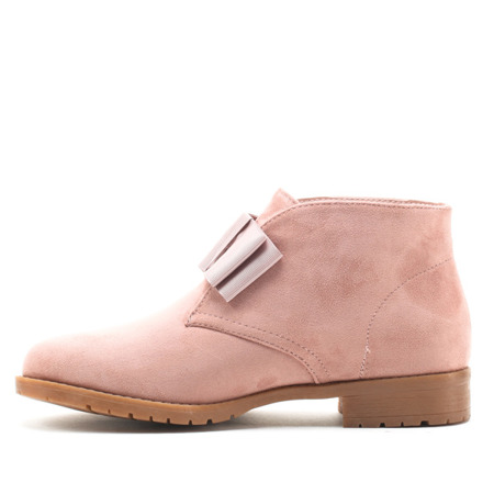 Pink, short Tiggy boots - Footwear