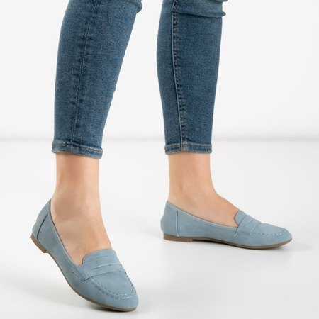 Roselle women's blue loafers - Shoes 1