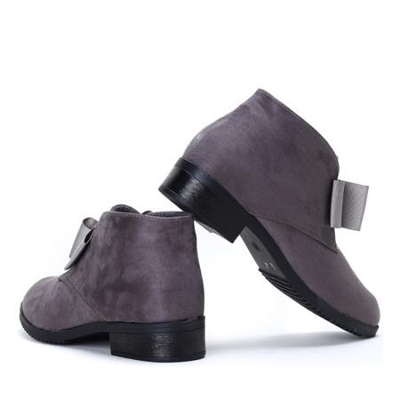 Seanna gray suede boots - Footwear