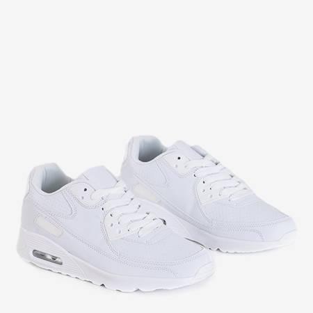 Shenia white faux leather sneakers - Footwear