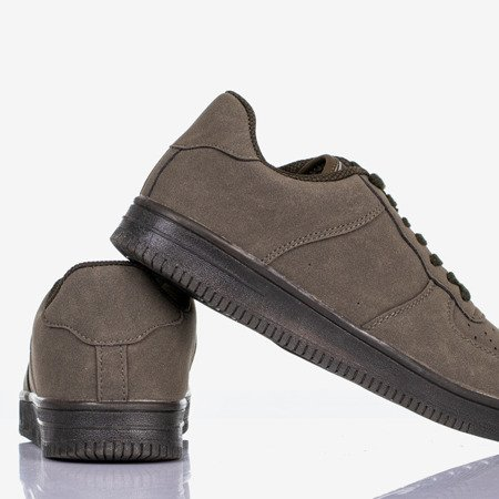 Sports shoes for children in green Framonis - Footwear 1