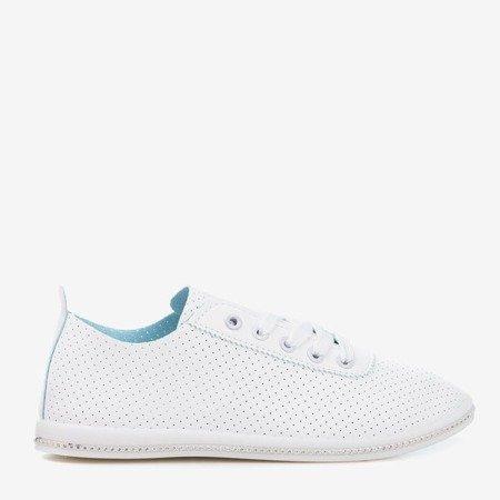 White openwork Jasenia sneakers - Shoes 1