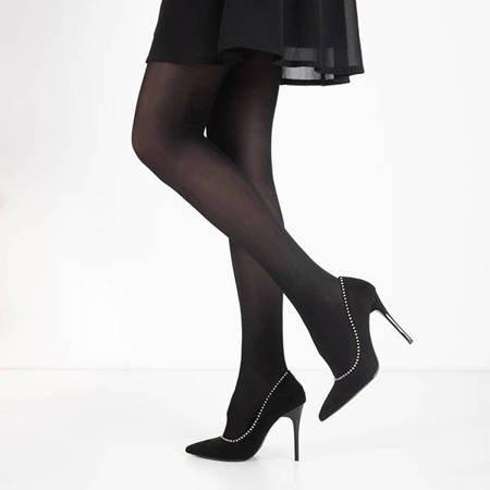 Women's black tights - Tights