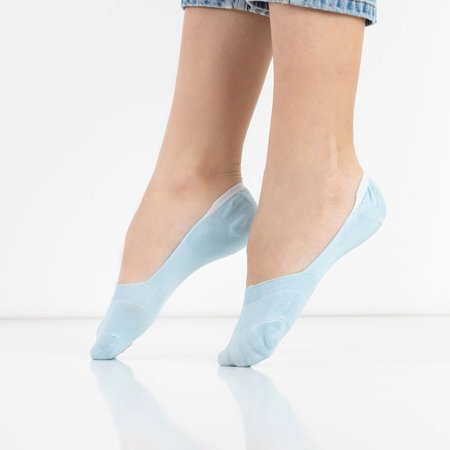 Women's blue bamboo socks - Socks
