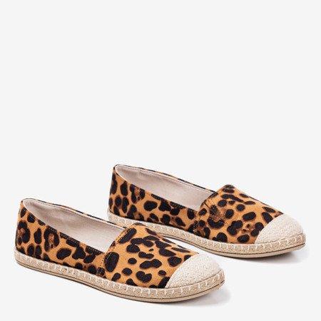 Women's espadrilles with leopard pattern Mirisa Fulton - Footwear