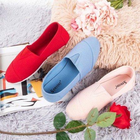 Women's pink slip-on sneakers Slavarina - Footwear