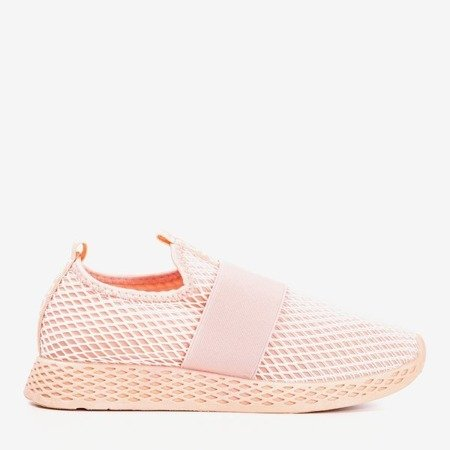 Women's powdery slip sports shoes - on Andalia - Footwear