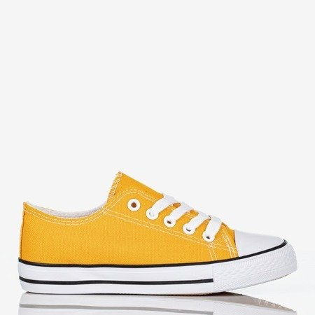 Yellow Franklin children's sneakers - Shoes 1