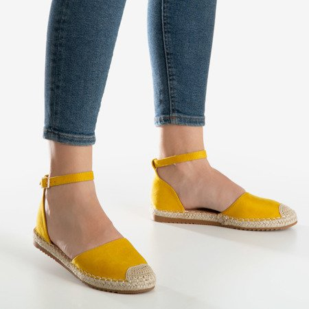 Yellow Leilane women's espadrilles - Footwear 1