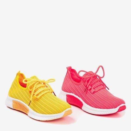Yellow Nomnel women's sports shoes - Footwear 1
