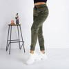 Green Velor Sweatpants - Trousers