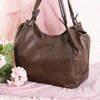 Large dark brown women's bag - Handbags