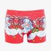 Men's Red Christmas Boxer Shorts - Underwear