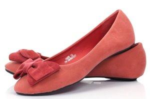 OUTLET Eco-suede ballerinas in a circular color - Shoes