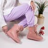 Pink snow boots with fur Cool Breeze - Footwear