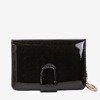 Varnished small women's wallet in black - Wallet 1